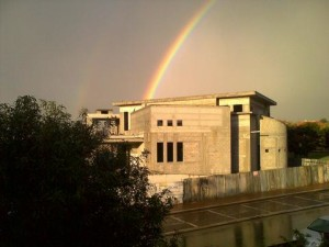 rainbow-over-shul